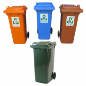 Rubbish Bins, Recycle Bins