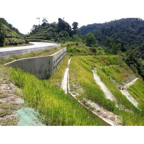 Earth Retaining Structure, Sheet Piling,  Toe Pins,  Gabion Wall, RC Wall, Segmental Wall