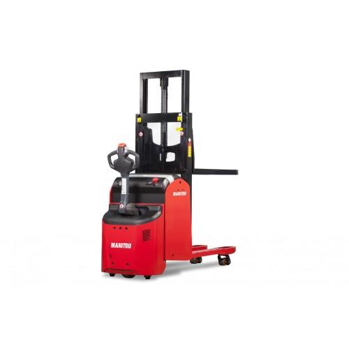 Manitou Warehousing Equipment Electric Stacker Truck ES 420 DL PFR 6