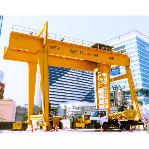 Gantry Cranes for heavy lifting and wide spans