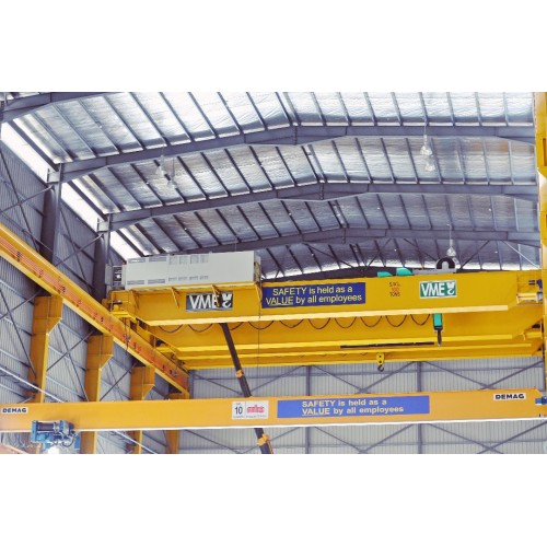 Heavy Duty Overhead Cranes for heavy lifting and wide spans