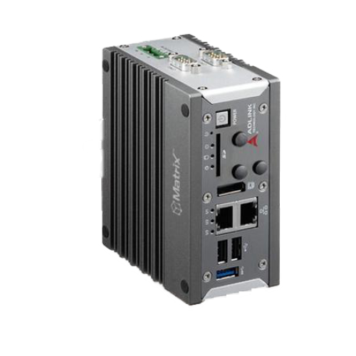 Adlink IoT Gateway Intel Atom Processor-Based Dual-core E3826, 2 GB SDRAM, isolated 4x DI/ 4x DO, MXE202D