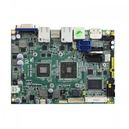 """3.5"""" Embedded SBC Motherboard CAPA110 with AMD G-Series APU, AMD A50M, LVDS/DisplayPort/VGA, Dual LANs and Audio"""