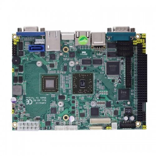 "3.5"" Embedded SBC Motherboard CAPA112 with Intel® Pentium® N4200 & Celeron® N3350 Processor, Dual HDMI, eDP, Dual GbE LANs and Audio"