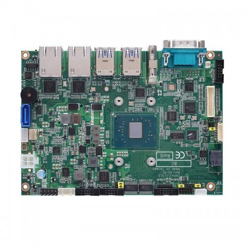 "3.5"" Embedded SBC Motherboard CAPA312 with Intel® Pentium® N4200 & Celeron® N3350 Processor, Dual HDMI, eDP, Dual GbE LANs and Audio"