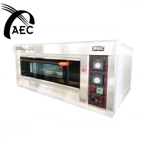 AK Food Machine, Oven Gas 1S 2P
