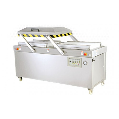 Heavy Duty Double Chambers Automatic Vacuum Packaging Machine J-V016A