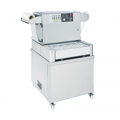 Semi-Automatic Tray Sealer With Vacuum & Gas Flushing J-V053A