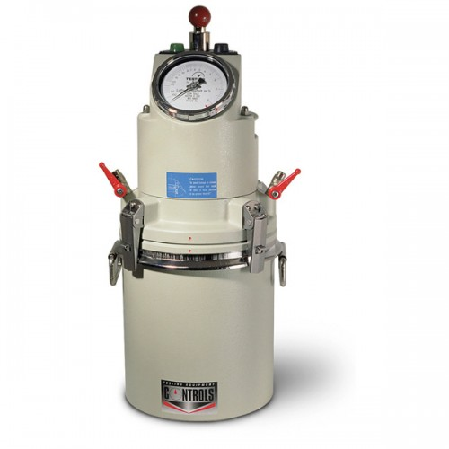 Concrete Air Content Meter, Concrete Air Entrainment Meters, 54-C0170/D Pressure gauge type, 8 l cap