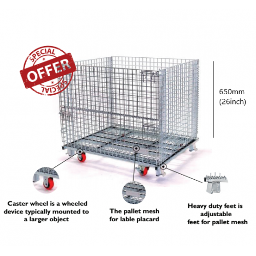 Bullmax Heavy Duty Pallet Mesh - 800kg Capacity - Model M-3
