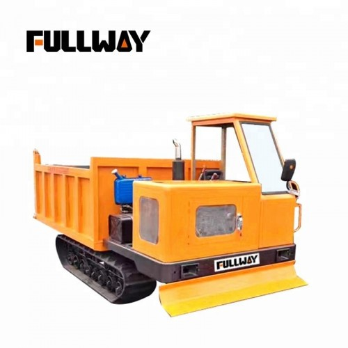 Fullway Crawler Dumper All Terrain Mini Dumper with Crawler Loader Transporter  FW50TA 5Tons