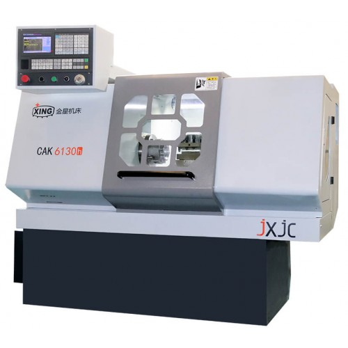 Golden Star CAK6130h Line Rail CNC Lathe for Optomizing Design, Element Analysing and Machining