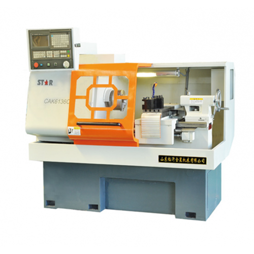 Golden Star CAK6136c x 535 CNC Lathe for Designing, Machining, Processing Parts and Analyzing