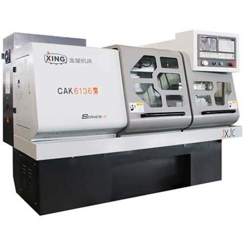 Golden Star CAK6136c x 835 CNC Lathe for Designing, Machining, Processing Parts and Analyzing