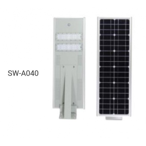 All-in-One 40W / 60W LED Solar Street Light Lamp with Motion Sensor