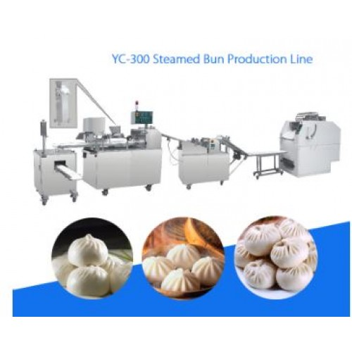 Automatic Steamed Bao Production Line Series YC-300 by YuCheng Machinery