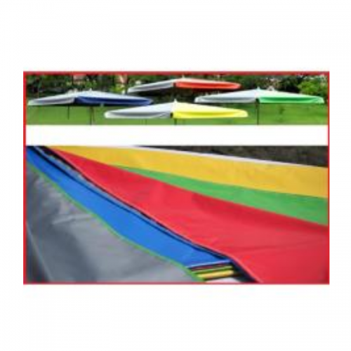 Canvas 8 feet x 8 feet Market Umbrella (2.5m x 2.5m) PVC Tarpaulin
