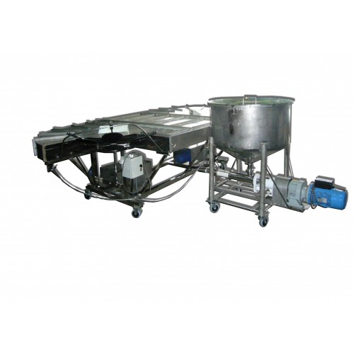 3 Phases Automatic Sepit Cookies Machine (Mesin Kuih Sepit Automatik)