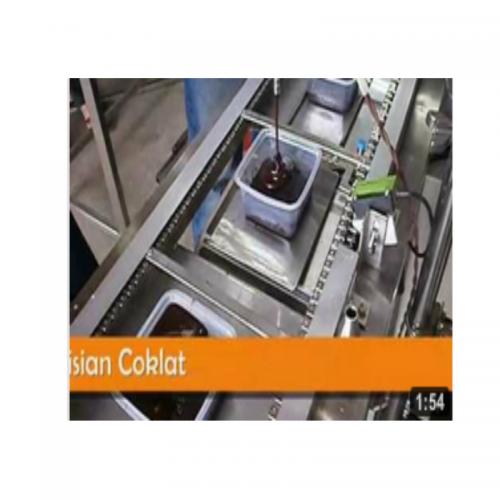Zull Design Automatic Chocolate Filling Machine (Mesin Pengisian Coklat)