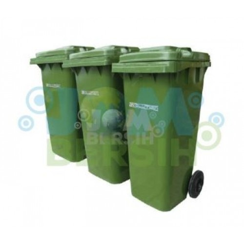 2 Wheel Waste Bin -Mobile garbage bin (evolution) 360liter