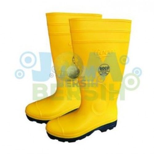 980 Yellow Black Goco Boots