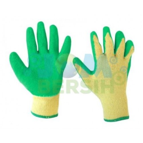 Rubber Coated Glove - 12 Pair