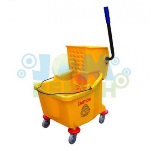 CLS Single Wringer Bucket (side press) Utility Trolley