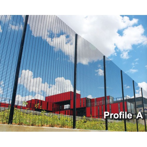 EsyFence High Security fence, Welded Mesh Panel Fence, ESY4LH-A - W 2.4m x H 1.2m