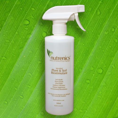 Nutrenics 500ML Spray Bottle Plant and Soil Biostimulant