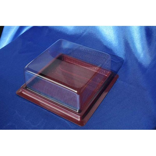 Bakery plastic container 80B