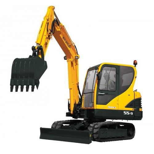 Mastech Hydraulic Excavator – Crawler & Wheel Type 8.0 ton