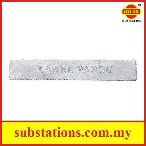 Concrete Cable Slab (Kabel Pandu)