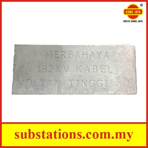 Concrete Cable Slab (Merbahaya 132 kV Voltan Tinggi)