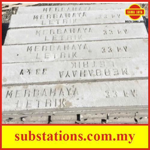 Concrete Cable Slab (Merbahaya Lektrik 33kV)