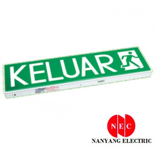 Econlite LE-908SL 10 X SMD LED Emergency Keluar Sign (Single Sided) (Wall Mounting Type)