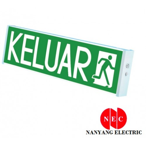 PNE PEX-215LED Super Bright LED Keluar Sign (Surface Type) (Single Sided)