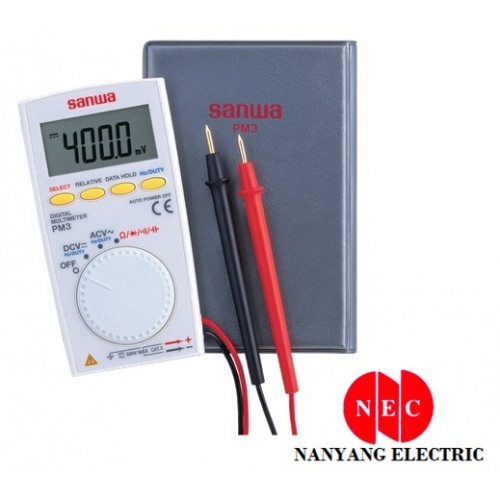 Sanwa PM-3 Digital Multimeter (Pocket Type)