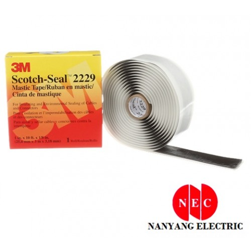 3M 2229 Scotch - Seal Mastic Tape And Pads