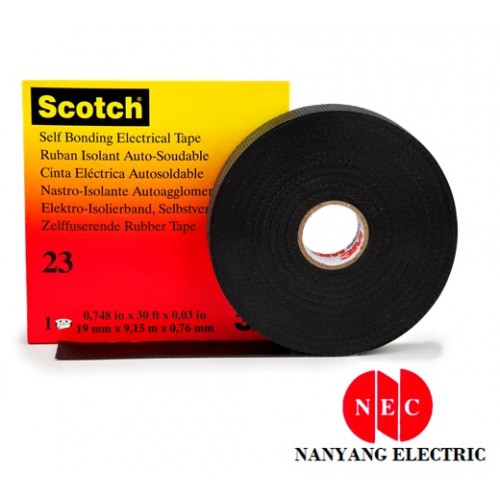 3M 23 Scotch Rubber Splicing Tape