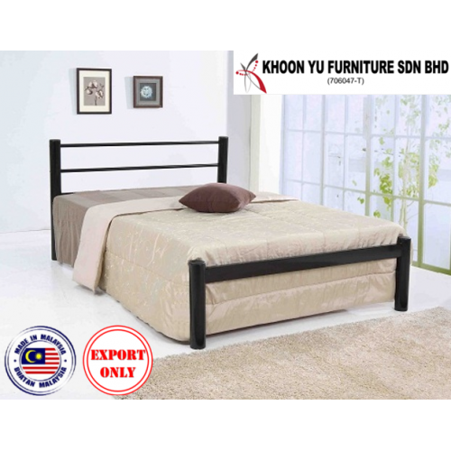 Bedroom Furniture, Bunk Bed Metal Bed Frame for export in Single Bed Double Bed Queen Bed size, TS 1020 Angie by Khoon Yu Furniture, Made in Malaysia