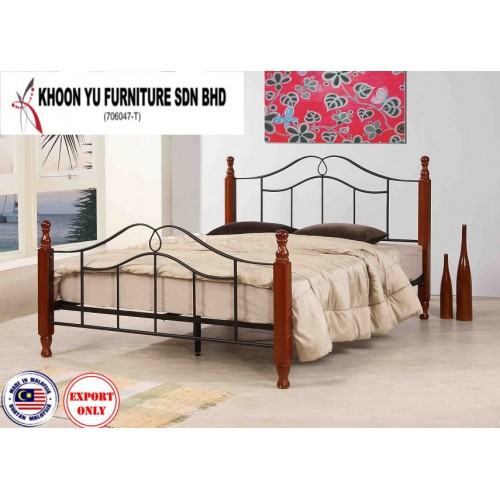 Bedroom Furniture, Bunk Bed Metal Bed Frame for export in Single Bed Double Bed Queen Bed size, TS 1047 Jaycee by Khoon Yu Furniture, Made in Malaysia