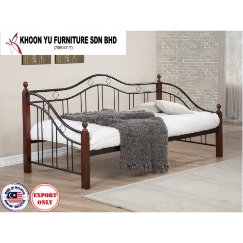 Bedroom Furniture, Casual Bed Metal Bed Frame for export in Single Bed Double Bed Queen Bed size, TS 5012 Hugme by Khoon Yu Furniture, Made in Malaysia