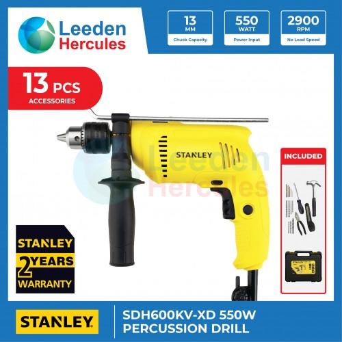 STANLEY PERCUSSION DRILL 550W POWER TOOL SDH600KV-XD