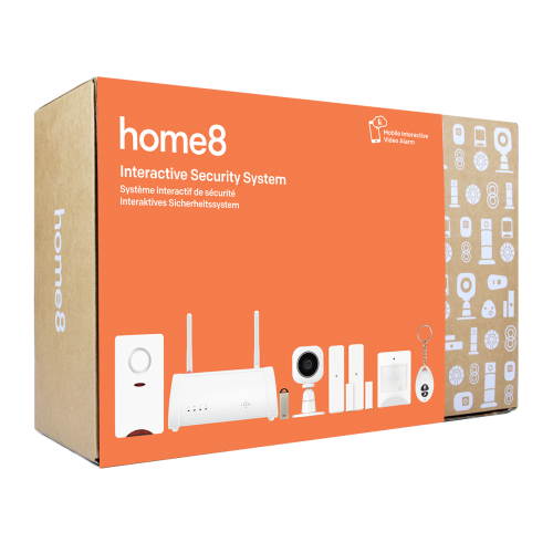 Home8 ActionView Security Video-Verified Interactive Alarm System