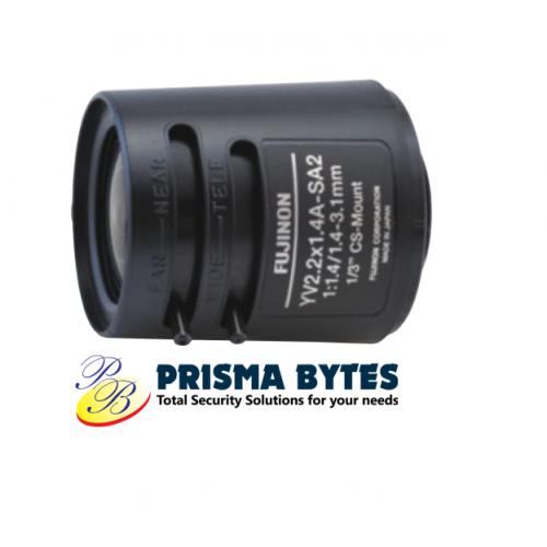 Fujifilm Fujinon CCTV Wide Angle Fisheye Lens YV2.2x1.4A-SA2 (1.2- 3.1mm)