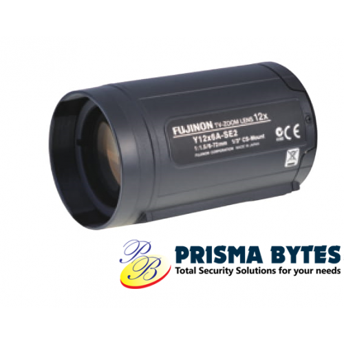 Fujifilm Fujinon CCTV Zoom Lens D12x8A-YE2 (96mm) by Prisma Bytes Malaysia Supplier
