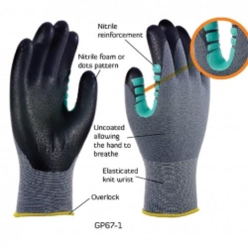 2RABOND General Purpose Gloves GP67 Octopus 7