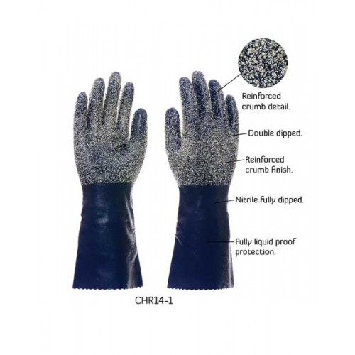 2RABOND Chemical Resistant Gloves CHR14 Job Master 3
