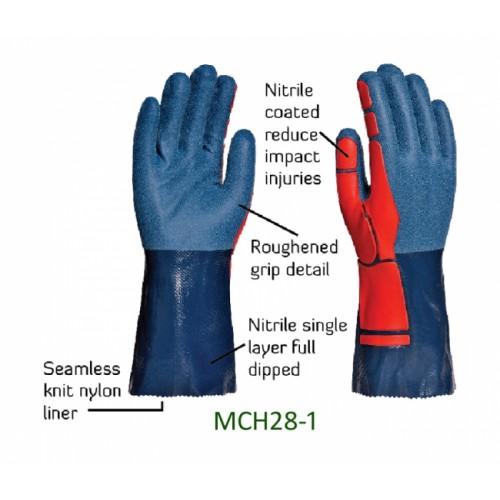 2RABOND Chemical Resistant Gloves CHR28 JobMaster 4