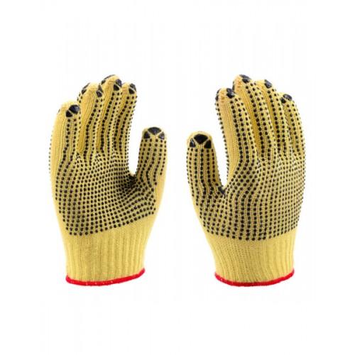 2RABOND Cut Resistant Gloves CR2 Kevlar PVC Dot Gloves